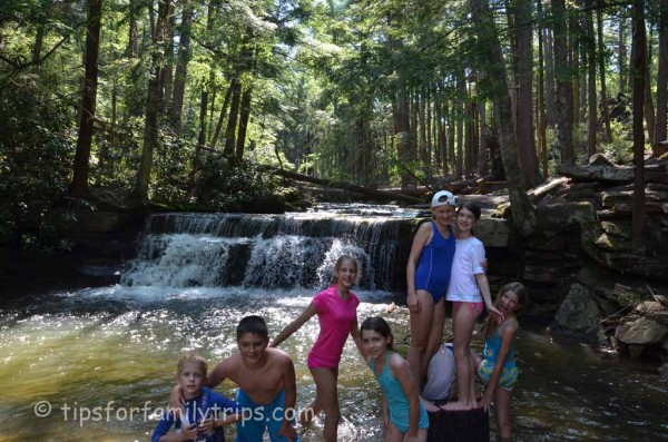 Play in the River at Swallow Falls State Park | tipsforfamilytrips.com