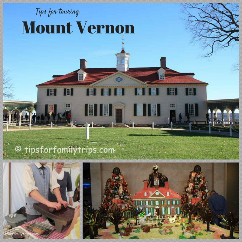 Tour Mount Vernon with the Family | tipsforfamilytrips.com
