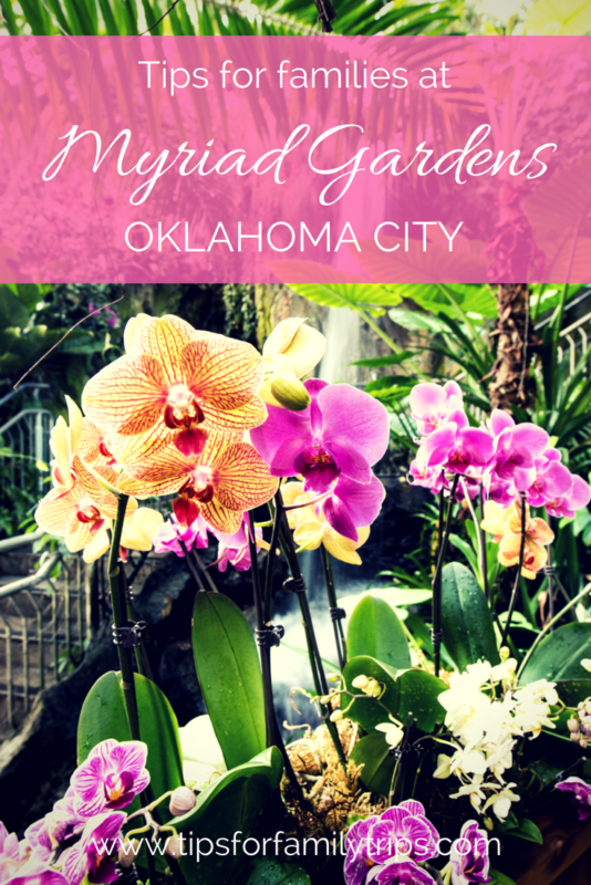Tips for visiting Myriad Gardens Crystal Bridge Tropical Conservatory in Oklahoma City | tipsforfamilytrips.com | winter