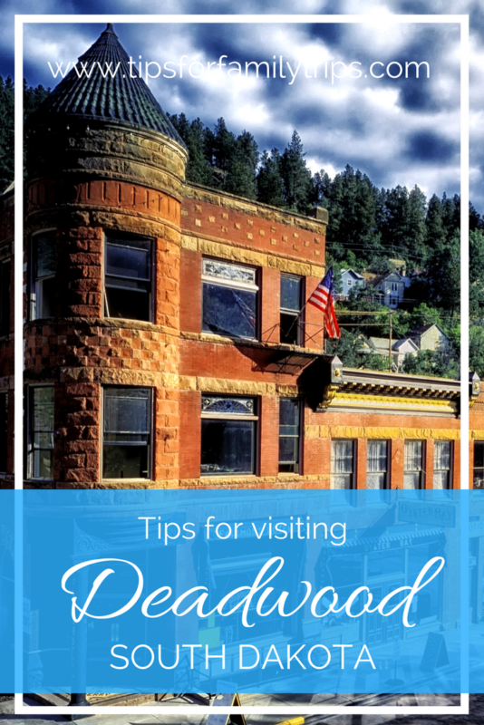 Tips for visiting Deadwood, South Dakota with kids | tipsforfamilytrips.com | Black Hills | Sturgis | Mount Rushmore | Mount Moriah | summer vacation