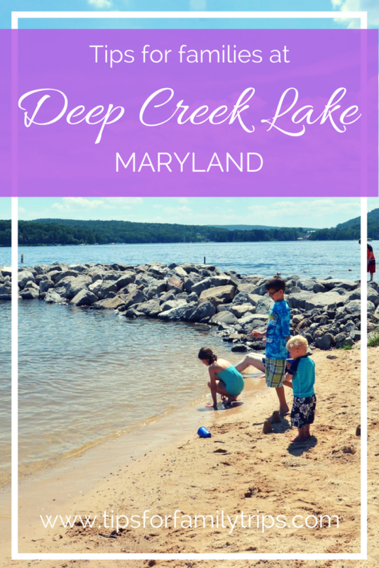 Tips for visiting Deep Creek Lake State Park in Maryland with kids | tipsforfamilytrips.com | summer vacation | family travel | Washington D.C. | Baltimore | Pittsburgh