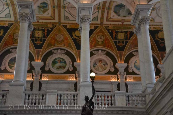5 Tips for Library of Congress Tours | tipsforfamilytrips.com