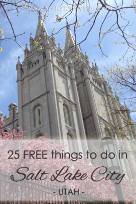 25 FREE things to do with kids in Salt Lake City, Utah | tipsforfamilytrips.com | summer vacation | spring break | family vacation