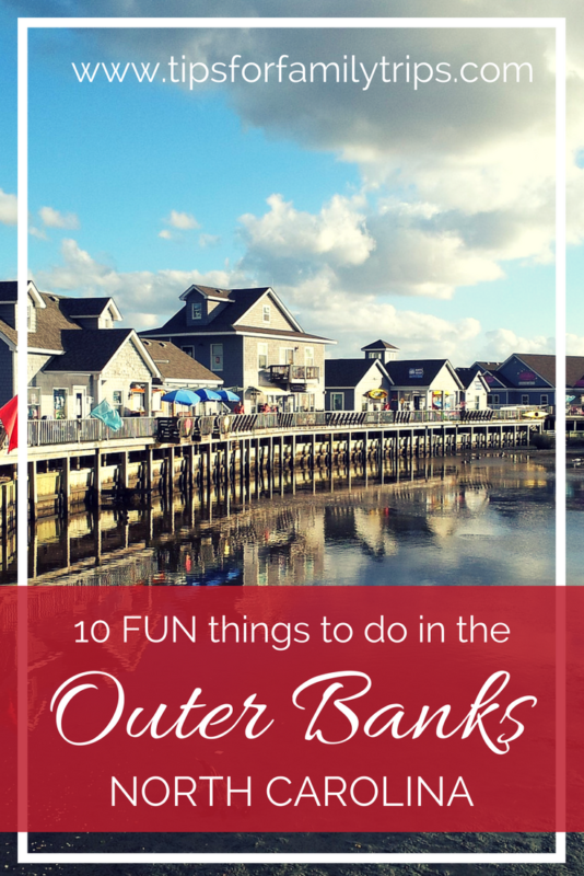 10 FUN things to do with kids on North Carolina's Outer Banks | tipsforfamilytrips.com | beach | summer vacation | family travel