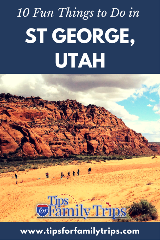 10 FUN things to do in St. George Utah with kids | tipsforfamilytrips.com | Zion National Park | Southern Utah | travel | spring break | outdoor | family vacation | budget