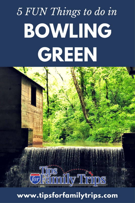 5 FUN things to do in Bowling Green, Kentucky with kids | tipsforfamilytrips.com | summer vacation | road trip ideas | family travel | Corvette Museum | Mammoth Cave National Park | cave tours | Lost Cave