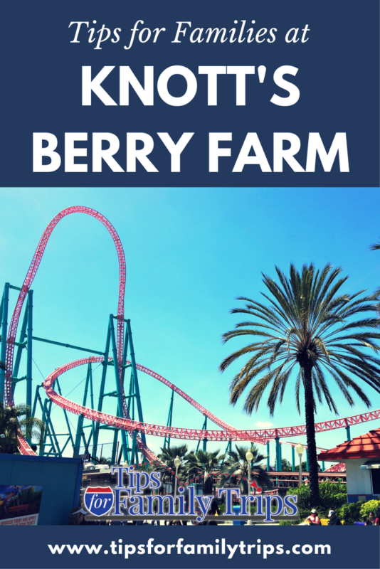 Top tips for families at Knott's Berry Farm in Southern California | tipsforfamilytrips.com | best rides | near Disneyland | Buena Park | Orange County | spring break | family travel