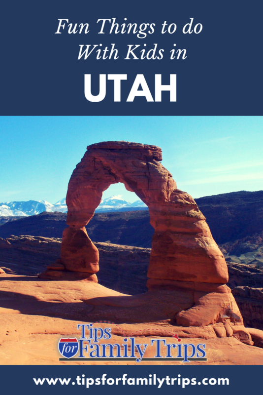 Fun things to do in Utah with kids | tipsforfamilytrips.com | Salt Lake City | national parks | vacation ideas | family travel | summer | spring break | fall break